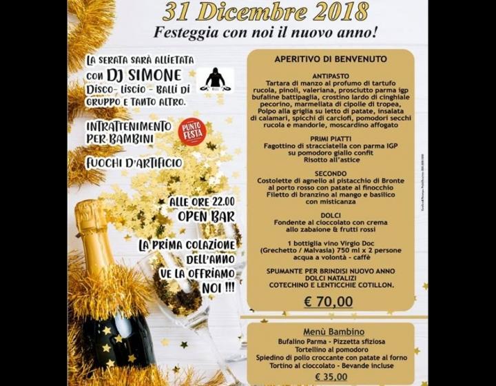 Capodanno Ristorante Sapori e Festa Bolsena Foto