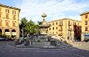 Piazza della Rocca foto - capodanno viterbo e provincia